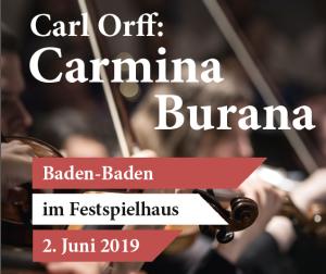 C. Orff, Carmina Burana @ Festspielhaus Baden-Baden