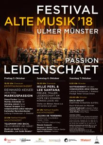 Reinhard Keiser, Markuspassion @ Ulmer Münster