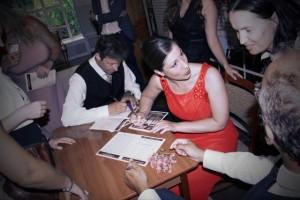 Autogramme nach dem Konzert
