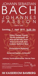 J.S. Bach, Johannes Passion @ Bamberger Dom