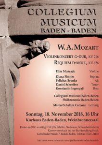 W.A. Mozart, Requiem @ Weinbrennersaal